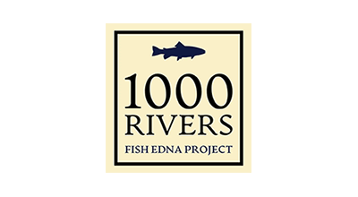 1000 Rivers - eDNA Project - Logo